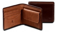 Visconti Raffle TORINO TR-30 Top Quality Leather Classic Bifold Wallet with C...
