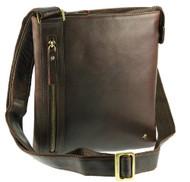 Visconti Merlin 25 Medium Size Messenger Bag / Shoulder Crossbody Bag / Slim ...