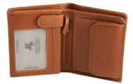 Visconti Ferrero VICENZA VCN-16 Top Quality Classic Tri Fold Wallet /Coin ID ...