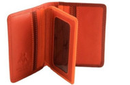 Visconti RB 64 Multi Colored Soft Leather Card/Business Card Holder/Wallet