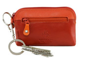 Visconti RB62 Multi Colored Soft Leather Ladies/Girls Key Purse & Key Ring