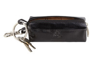 Visconti MZ18 Monza Genuine Leather Key Ring Zippered Coin Pouch