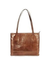Visconti VT-12 Leather Tan Shopping Bag / Handbag / Tote Bag / Satchel / Shoulder Bag for Women