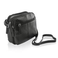 Visconti 18939 Womens Small Leather Shoulder / Crossbody Bag