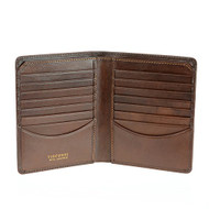 Visconti  Tuscany 49 Parent Secure RFID Blocking Genuine Leather Card Holder Wallet