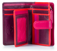 Visconti RB51 Multi Color Soft Large Bifold  Leather Ladies Wallet PURSE Gift Bx