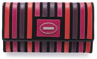 Visconti Berkley Handmade Top Quality Womens Leather Wallet - Bk50 (Very Berry)