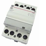 CONTACTOR DIN 63A 240VAC/DC COIL 3 module