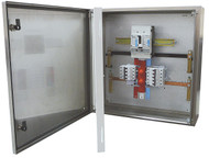 DISTRIBUTION BOARD, IP65 GREY, MCCB MAIN SWITCH