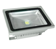 Ideal for cool rooms, IP65 50W LED Flood Light, working temperature from -40oC to 55oC
