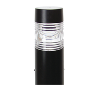 """IP33, Aluminium bollard head and post with polycarbonate diffuser. Features sturdy mounting base. Available in two height sizes."""