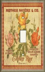 Cabbage Rose - Light Switch Plate Cover