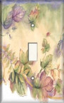Colorful Leaves - Light Switch Plate Cover
