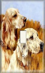 Dogs On Prairie - Light Switch Plate Cover