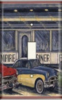 Empire Diner - Light Switch Plate Cover