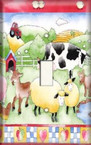 Farm Party - Light Switch Plate Cover