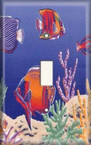 Fish Tank - Light Switch Plate Cover