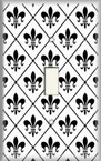 Fleur De Lis 3 - Light Switch Plate Cover