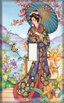 Oriental Woman - Light Switch Plate Cover