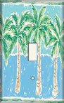Palm Trees - Light Switch Plate Cover