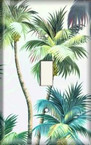 Palm Trees 2 - Light Switch Plate Cover