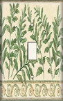 Plant Leaves - Light Switch Plate Cover