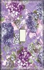 Purple Bluebonnet - Light Switch Plate Cover