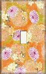 Purple/Orange Assortment - Light Switch Plate Cover