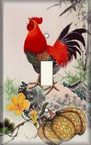 Rooster Crow - Light Switch Plate Cover