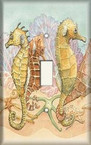 Seahorses - Light Switch Plate Cover
