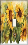Sunflower - Light Switch Plate Cover