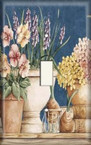 Table Of Flowers - Light Switch Plate Cover