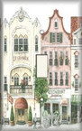 Town Square - Light Switch Plate Cover