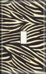 Zebra Light Switch Plate Cover