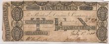 1801 $10 Gloucester Farmers Ex. Bank, 1st Failed Bank