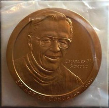 UNITED STATES CHARLES M. SCHULZ 3'' BRONZE MEDAL