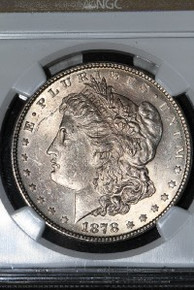 1878 7TF REV 78 Morgan Silver Dollar NGC MS 62 VAM 141A