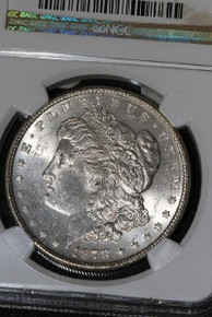 1878 7TF REV 78 Morgan Silver Dollar NGC MS 63 VAM 100