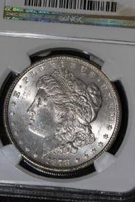 1878 7TF REV 78 Morgan Silver Dollar NGC MS 63 VAM 100