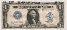 1923 $1 Silver Certificate 330307759517