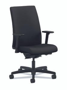 Ignition Upholstered Mid-Back, Black CU10