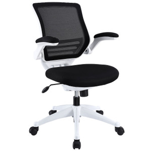 Hunter Blanco Mesh Back Flip Arm Task Chair Black