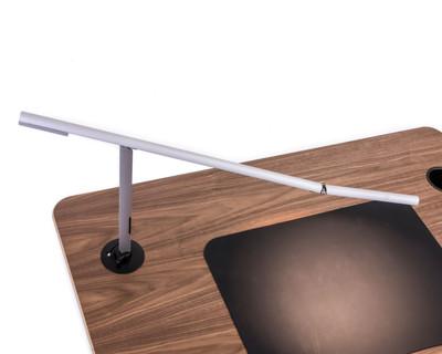 Desk mount LED light