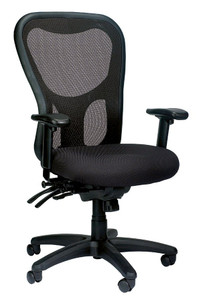 EuroTech Apollo Multi-Function with Seat Slider High Back Chair