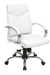 OSP 7271 Deluxe Leather Mid Back Executive