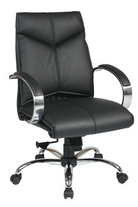 OSP 8201 Deluxe Leather High Back Executive