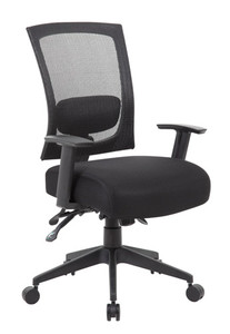 task chair side view