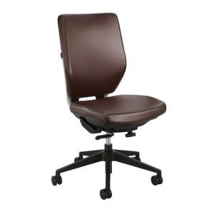 Brown Vinyl Sol Task Chair