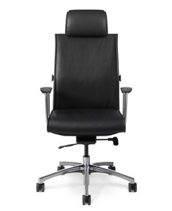 Conference Executive Series High Back Leather Chair with Headrest