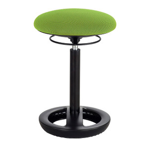 Twixt Ergonomic Stool Quickship, green mesh seat